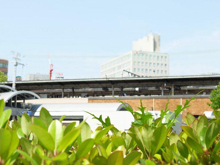 JR神戸駅前での 出店の様子