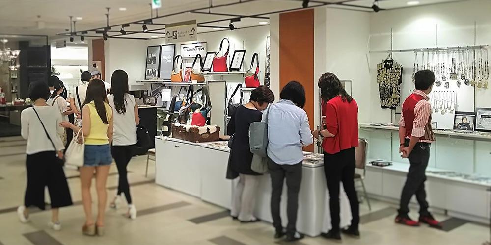てづくりサーカスTresure Trove in 名古屋三越