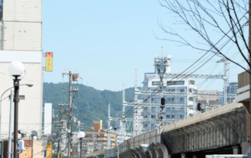 JR神戸駅前での出店の様子