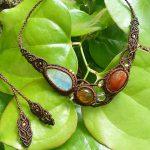 macrame jewelry HOLY