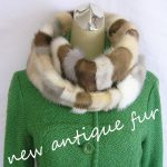 new antique fur & crochet